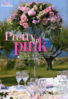 Image result for weddingmagazine uk robert koene Love Games, Hydrangea, Pretty In Pink, Peonies, Delicious Desserts, Glass Vase, Reception, Bloom, Lily