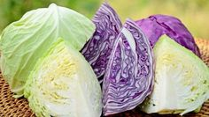 Types Of Cabbage, Raw Cabbage, Cabbage Head, Cabbage Juice Benefits, Cabbage Juice For Ulcers, Fermented Cabbage, Skin Nutrition, Stomach Ulcers, Fruit Drinks