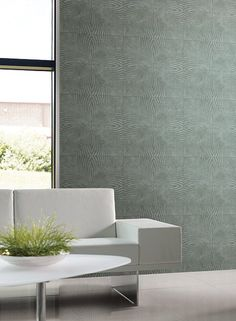 Large Square Wallpaper in Beige and Neutral design by York Wallcoverin | BURKE…