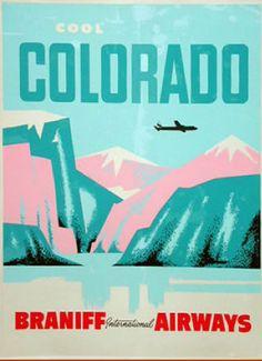 Colorado - Braniff Airways