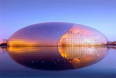 "Center for the Performing Arts ""The Egg""  Beijing, China | Calgary Skylights | www.skylightscalgary.com"