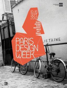 Paris Design Week Love this modern poster design. Cool Poster Designs, Graphic Design Posters, Cool Posters, Graphic Design Typography, Graphic Design Inspiration, Graphisches Design, Paris Design, Layout Design, Dm Poster