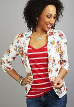 Floral Blazer Cute Clothes