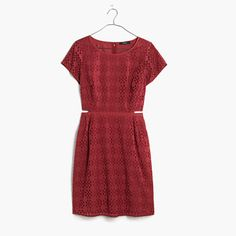 $138 Eyelet Happening Cutout Dress