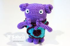 PATTERN Instant Download Purple Buddy Oh Home Dreamworks by Sahrit