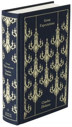 Great Expectations - cloth bound cover design by Coralie Bickford-Smith (Penguin UK).