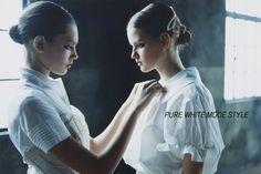 Pure White Mode Style | ODALISQUE Magazine