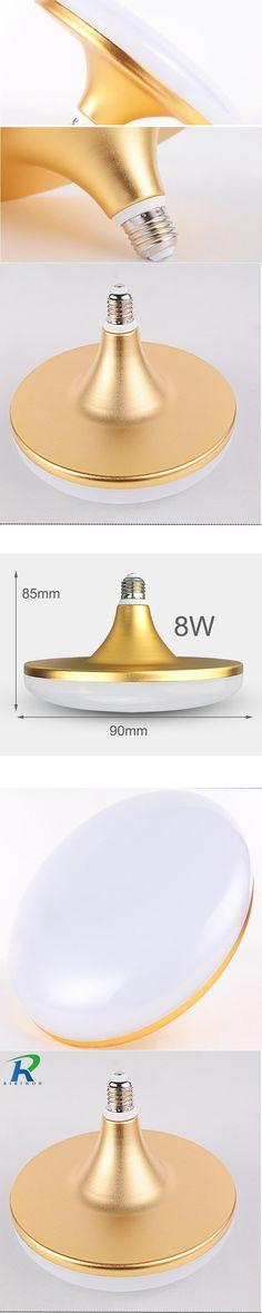 180-265V Energy Saving E27 LED Lamp 8W  SMD 5730 Flat High Power LED Light Bulb 220V E27 UFO LED Light for Home Lighting