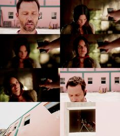 """Burn Notice- OMG! LOVED this part <3 a Mike and FI moment. """"And Fiona, time to be brave my little angel.""""- Mike"""