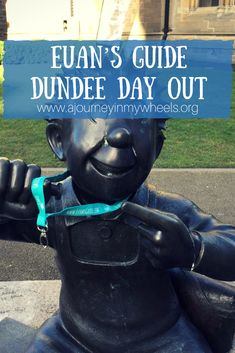Euan's Guide joined me in Dundee to review the great accessible attractions, here's my views on the day.