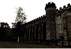 """Moundsville Penitentiary, West Virginia  Another site of the Paranormal State's PRS """"field trips"""", this prison is a prime ghost-hunting location! Considered to be one of the most violent of America's prisons, its inmates still haunt the halls to this day. The Sugar Shack is known to house ghosts of the prisonand visitors have reported seeing the circular cage near the entrance gate move by itself, as if prisoners are still arriving. Others have claimed to feel nauseous and hear evil…"""