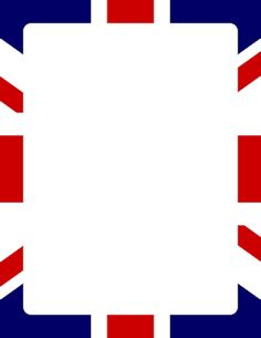 Free union jack border templates including printable border paper and clip art versions. File formats include GIF, JPG, PDF, and PNG. English Class, English Lessons, Teaching English, Union Jack, British Party, Molduras Vintage, London Party, Page Borders, England