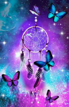205 best dream catcher wallpaper ❤ images in 2019 Cute Galaxy Wallpaper, Butterfly Wallpaper Iphone, Neon Wallpaper, Scenery Wallpaper, Cute Wallpaper Backgrounds, Pretty Wallpapers, Colorful Wallpaper, Disney Wallpaper, Iphone Wallpaper