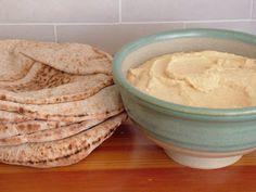 Day 54: Hummus & Pita and Black Bean Soup