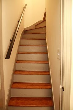 How To Decorate An Enclosed Staircase Staircases
