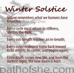 Celebrate winter solstice today with stillness, with going inward. It's time to celebrate this new beginning with letting go of your attachments that no longer serve you and releasing any negativity you hold onto. Winter Solstice Quotes, Winter Solstice Traditions, Happy Winter Solstice, Summer Solstice, Winter Solstice Meaning, Christmas Traditions, Winter Solstice Rituals, Yule Traditions, Winter Kids