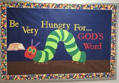 best Ideas for spring door decorations classroom preschool eric carle Religious Bulletin Boards, Bible Bulletin Boards, Christian Bulletin Boards, Spring Bulletin Boards, Preschool Bulletin Boards, Classroom Bulletin Boards, Preschool Classroom, Bullentin Boards, Bulletin Board Ideas For Church