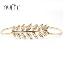 {Like and Share if you want this  high quality waistband chain 2016 Fashion women elastic metal belt Vintage Elastic Leaf women gold silver skinny belt   BL08|    Newest arriving high quality waistband chain 2016 Fashion women elastic metal belt Vintage Elastic Leaf women gold silver skinny belt   BL08 now at a discounted price $US $3.40 with free delivery  you'll find this amazing item and even a whole lot more at our favorite web site      Grab it today at this website…