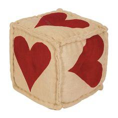 Heart Pouf