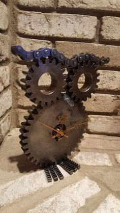 Steampunk Owl clock #15 Created by Michael Mostoller Owner of AtomicVault9