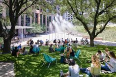 Lawn And Landscape, Urban Landscape, Landscape Design, Synthetic Lawn, Dappled Light, Shade Structure, Urban Life, Contemporary Landscape, Built Environment