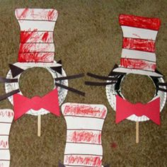 Crafty Corner - Print out on card stock and construction paper. Get volunteers to help.