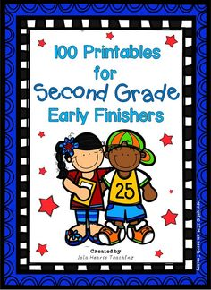 Need something to challenge your gifted and talented students who finish early? Are they always crying out for enrichment? If so, then this packet of 100 printable activities is perfect for your classroom! Teaching Second Grade, Second Grade Teacher, 2nd Grade Classroom, 2nd Grade Math, Student Teaching, School Classroom, Classroom Activities, Teaching Ideas, Grade 2
