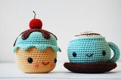 crochet cupcake - Buscar con Google