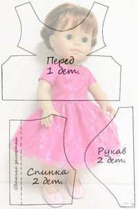 Handmade Doll Clothes Patterns Arts And Crafts Sewing Doll Clothes, Baby Doll Clothes, Sewing Dolls, Barbie Clothes, Diy Clothes, Doll Dress Patterns, Clothing Patterns, Diy Doll, Doll Crafts