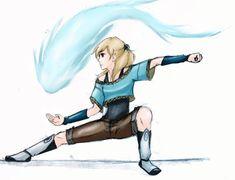 Avatar the Last Airbender OC | Waterbender!AB by Lacrymosa-AM