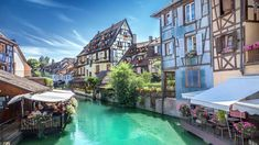 A relaxing countryside spa hotel in the historical Alsace region in France with Christmas market dates - includes breakfast, spa access and Beautiful Architecture, Architecture Design, Free Jigsaw Puzzles, Puzzle Of The Day, Hotel Stay, Rotterdam, Sicily, Countryside, Paintings