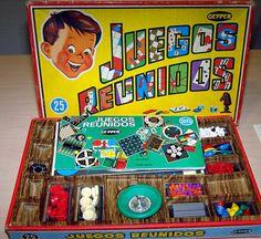 juegos-reunidos-geyper Vintage Games, Vintage Toys, Retro Vintage, Childhood Toys, Childhood Memories, Party Fiesta, Curious Cat, Infancy, Retro Toys