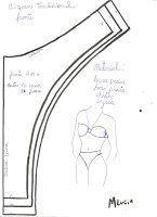 Curso básico de lingerie com vários moldes para baixar | Agulha de ouro Ateliê
