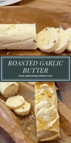 Look no further for the perfect steak butter recipe! This roasted garlic compound butter is ideal for steaks, chicken, or even veggies for an easy burst of rich flavor. #theflourhandprint #steakbutter #compoundbutter #garlicbutter