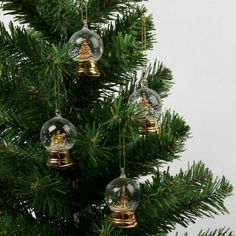Baubles Christmas Concepts/® 6 x 120mm Ice Blue Glitter Christmas Crackers Tree Ornaments