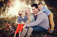 Styling: Mixing Stripes, neutrals, squares and denim. This combination mix neutral pieces and bright colors for a nice contrast.      Amazing stylized family shoot---Velvet Owl Photography Blog family photo ideas
