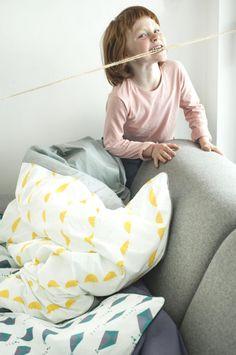 Mumla - Pościel Żółte parasole