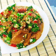 Igbagba Ofofo  Okra Pepper Soup Recipe on  http://www.dooneyskitchen.com/2015/03/09/igbagba-ofofo-okro-peppersoup/