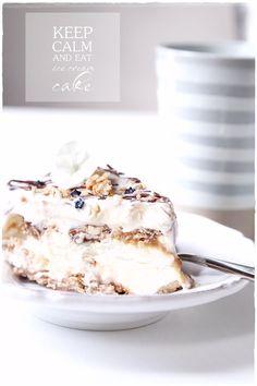ice cream cake / Vaaleanpunainen hirsitalo - Divaaniblogit