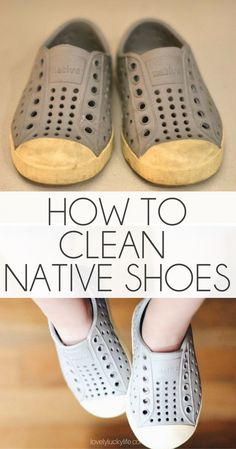 How To Clean Native Shoes - Lovely Lucky Life Toddler Boy Fashion, Toddler Fashionista, Native Shoes, Kids Hands, Kid Styles, Gifts For Boys, Mom Style, Boys Shoes, Girly Things