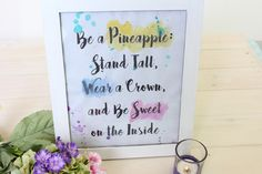 DIY Printable Be a P