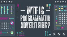 What is Programmatic Marketing, Buying and Advertising - a high level view of what it is and hows it changed media buying and planning for campaigns. Advertising Campaign, Marketing And Advertising, France Tv, Effective Marketing Strategies, Digital Marketing Trends, Employer Branding, Content Marketing, How To Find Out, Learning
