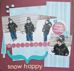 Snow Happy - Scrapjazz.com