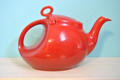 Red Hall's teapot - I found this one in Deerfield Beach, FL in an antique mall