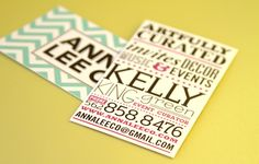 ... an event planning business). Below is what was inside the envelope. They…
