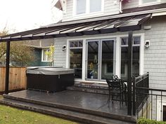 20 beautiful glass enclosed patio ideas | roof covering, patios ... - Patio Roof Designs