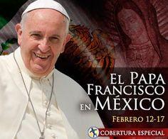 VATICANO, 12 Feb. 16 / 02:15 am (ACI).-   El Papa Francisco ha emprendido ya sunuevo viaje apostólico internacionalque tiene como destino México donde estará desde hoy hasta el próximo 18 de febrero.
