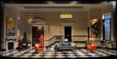 Rich Girl. George Street Playhouse.  Scenic design by Wilson Chin.