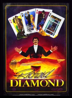 Richard Diamond Illusionist , Magician, Escape Artist, & Stuntman