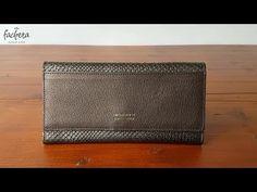 1217d867f98 Peter Kent ladies purse croco bronze/grey. Continentale Portemonnee